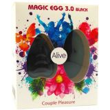 Виброяйцо Alive Magic Egg 3.0 Black (16164-29)