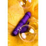 Нереалистичный вибратор Toyfa A-Toys, силикон, Фиолетовый, 18 см (24716-37)