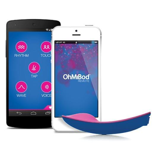 Клиторальный вибратор OhMiBod - blue Motion App Controlled Nex 1 (9098-17)