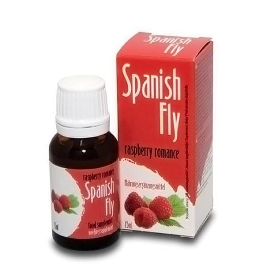 Возбуждающие капли Spanish Fly, малина, 15 мл (4662-17)