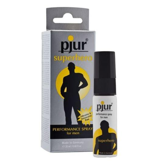 Пролонгирующий спрей для мужчин pjur Superhero Spray 20 мл (13374-29)