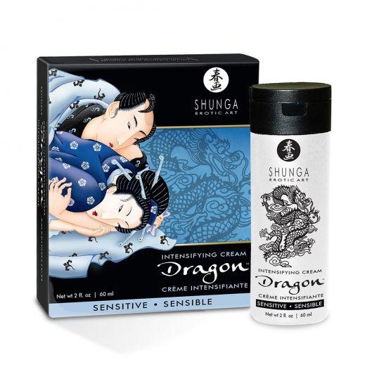 Стимулирующий крем для пар Shunga SHUNGA Dragon Cream SENSITIVE (60 мл) (15875-29)