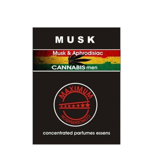 Духи с феромонами для мужчин Musk Cannabis, 2.4 мл (10687-17) во Львове