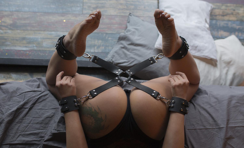 Комплект наручников БДСМ